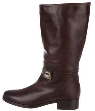 Bruno Magli Leather Knee-High Boots Leather Knee-High Boots