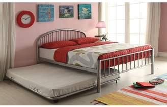 ACME Furniture Cailyn Twin Bed, Silver