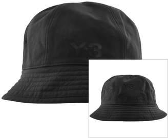 20db0d27aa94e Y-3 Y3 Logo Reversible Bucket Hat Black