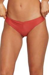 Volcom Simply Solid V Cheeky Bikini Bottom