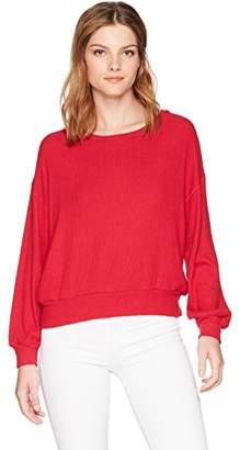 Velvet by Graham & Spencer Women's Jo Blouson Sleeve Pullover