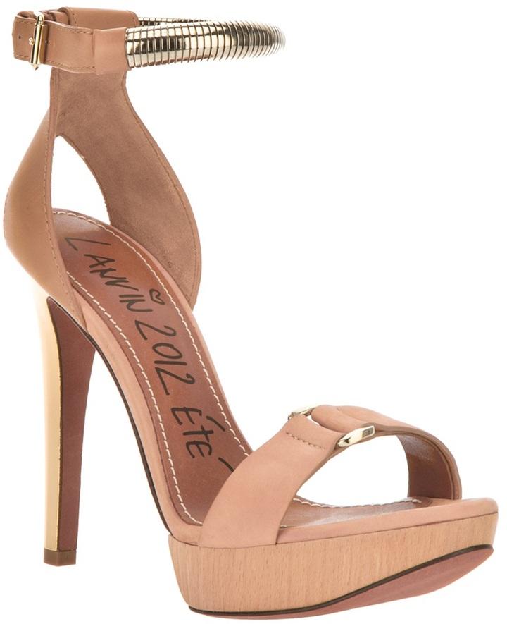 Lanvin open toe sandal