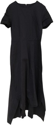 Cos Navy Cotton Dress for Women