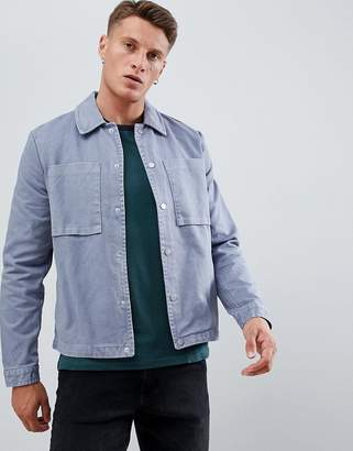 New Look worker jacket in blue
