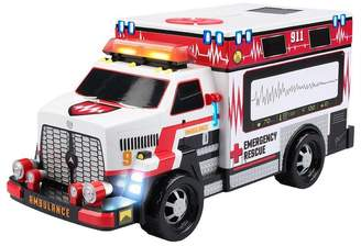 Kid Galaxy Toy Vehicle Ambulance with Lights and Sounds