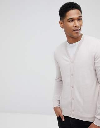 Reiss 100% Merino Wool Cardigan