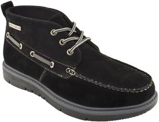 Black Contrast Chukka Boot $49.99 thestylecure.com