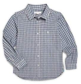 Marie Chantal Little Boy's Plaid Shirt
