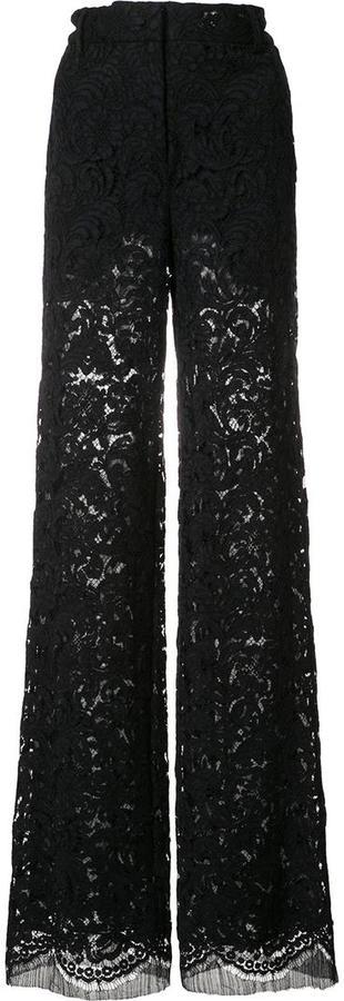 ADAM By Adam LippesAdam Lippes lace flared trousers