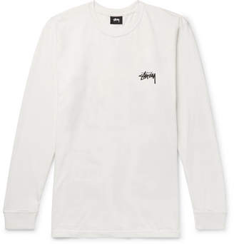 Stussy Printed Cotton-Jersey T-Shirt