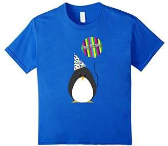 """Original Penguin Slurp: """"Penguin Happy Birthday"""" T-Shirt"""