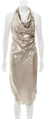 Chris Benz Sleeveless Midi Dress