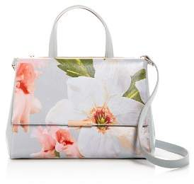 Ted Baker Chatsworth Bloom Floral Print Embossed Tote