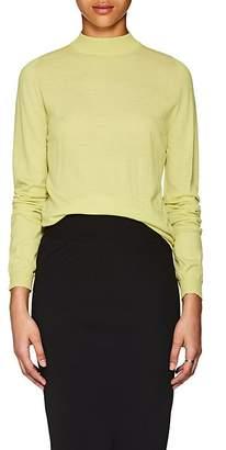 Rick Owens Women's Wool Mock Turtleneck Sweater