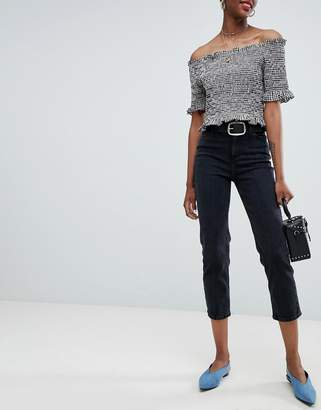 New Look Harlow Straight Leg Crop Jean
