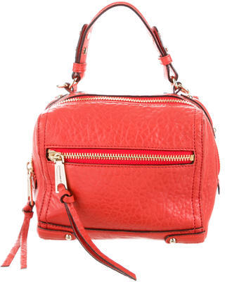 Rebecca Minkoff Pebbled Leather Satchel $110 thestylecure.com