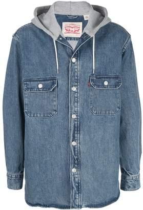Levi's Jackson hooded denim jacket
