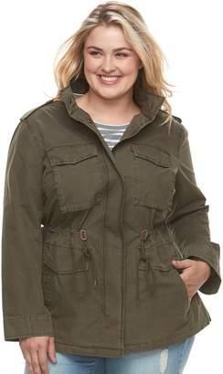 Levi's Levis Plus Size Anorak Military Jacket