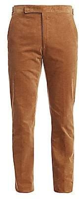 Ralph Lauren Purple Label Men's Greg Flat-Front Corduroy Pants