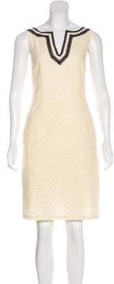 Tory Burch Sleeveless Eyelet Dress