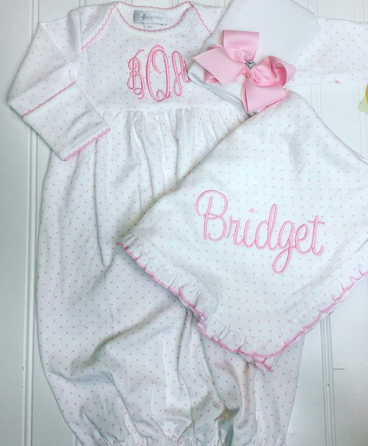 da00b4bf76b Etsy Baby girl coming home outfit