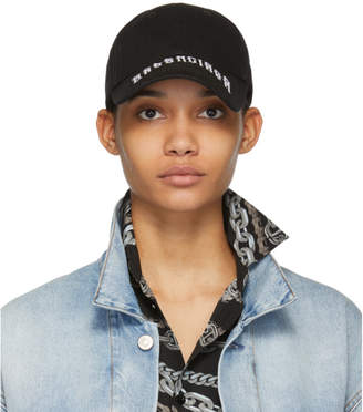 Balenciaga Black Tattoo Logo Cap