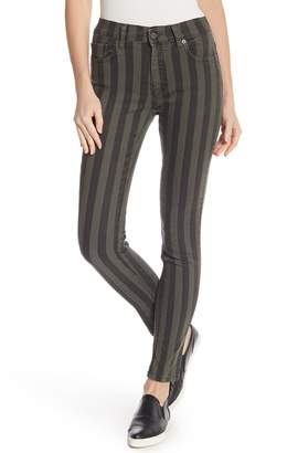 French Connection Stripey Stretch Denim Pants