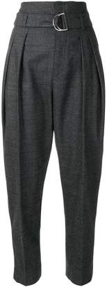 IRO pleated cropped trousers