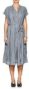 Pas De Calais Women's Oversized Belted Dress - Turquoise