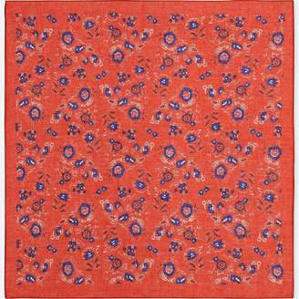 Uniqlo WOMEN Sleeky Scarf (Floral)