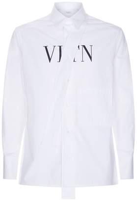 Valentino VLTN Neck Tie Shirt