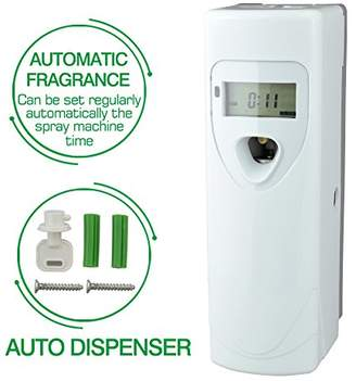 ELETA Commercial Automatic Air Freshener Dispenser Supplies[Without Can] (White)