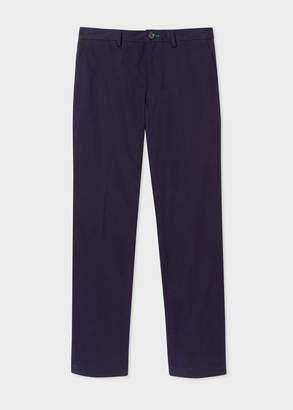 Paul Smith Men's Mid-Fit Navy Chinos