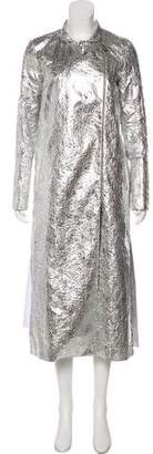 Osman Metallic Trench Coat