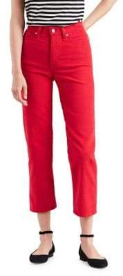 Levi's Wedgie Cropped Cords