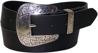 Camilla And Marc Western women's belt FRONHOFER country buckle, real leather belt, 1.4'/3.6 cm, Size:, Color