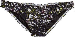 Ganni Floral Ruffle Bikini Bottoms
