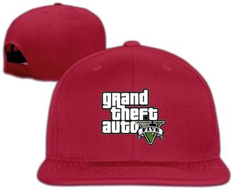 BONGJIU-CAPS GTA 5 Grand Theft Auto V Game Logo Unisex Porch Baseball Cap Hat