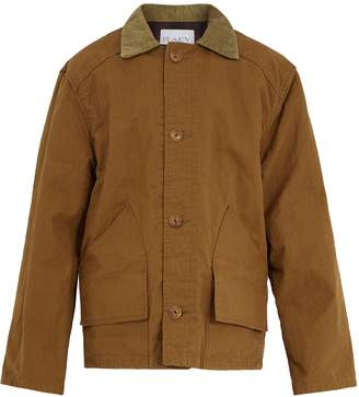 Raey Contrast-collar cotton fishing jacket