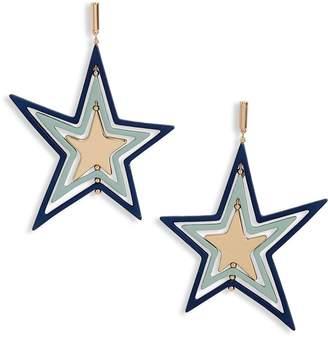 Tory Burch Star Spinner Earrings