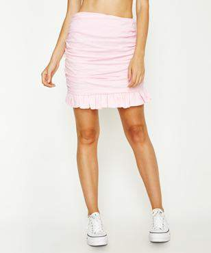 Lioness Wild At Heart Mini Skirt Dusty Pink