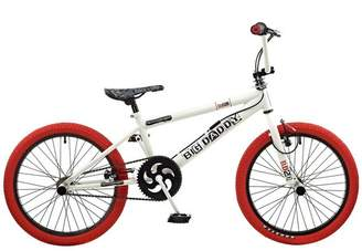 Rooster Big Daddy BMX Bike - White & Red