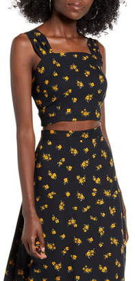 Ten Sixty Sherman Floral Crop Top