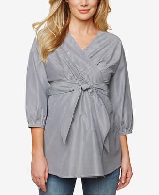 Motherhood Maternity Wrap Top