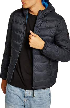Topman Terrain Classic Fit Quilted Jacket