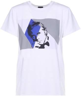 Giorgio Armani Portrait Stretch-jersey T-shirt