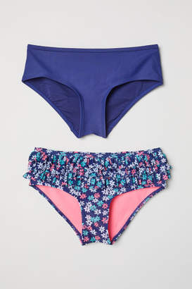 H&M 2-pack Bikini Briefs - Blue