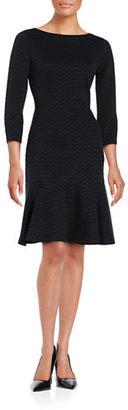 Ivanka Trump Chevron-Patterned Sheath Dress $99 thestylecure.com