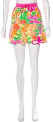 Lilly Pulitzer Print Mini Skirt
