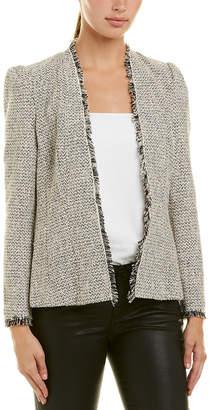 Rebecca Taylor Tweed & Wool-Blend Jacket